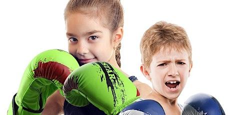 KIDS KICKBOXING CLASSES - 4 CLASSES tickets