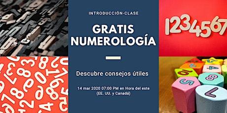 clase gratis - Numerología boletos