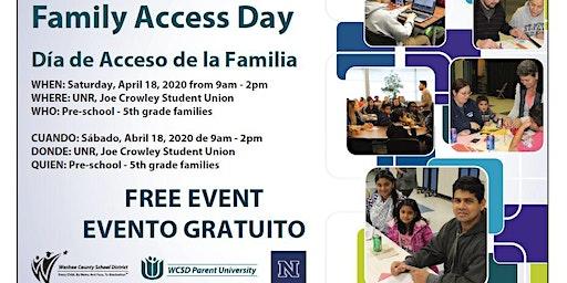 Family Access Day 2020 / Día de Acceso a la Familia 2020