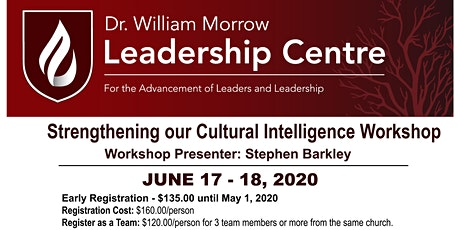 Strengthening Your Cultural Intelligence  tickets