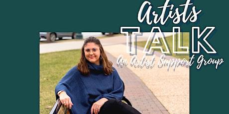 Artists Talk: Boundaries, Money, and Validation tickets