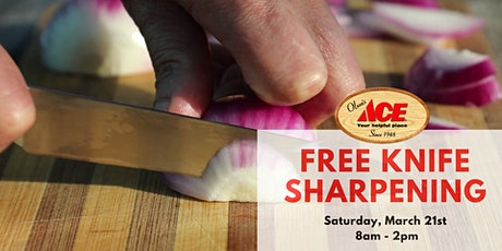 Free Knife Sharpening tickets