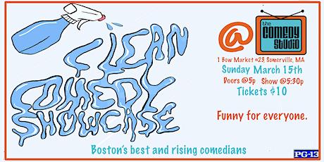 Clean Comedy Showcase! tickets