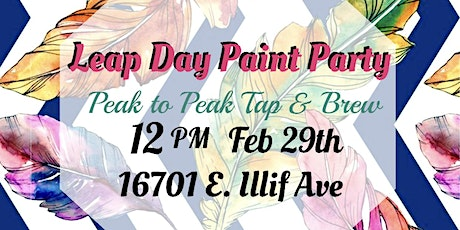 Leap Day Paint Party tickets