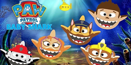 Baby Shark and Paw Patrol are coming to Miami for a fun show!