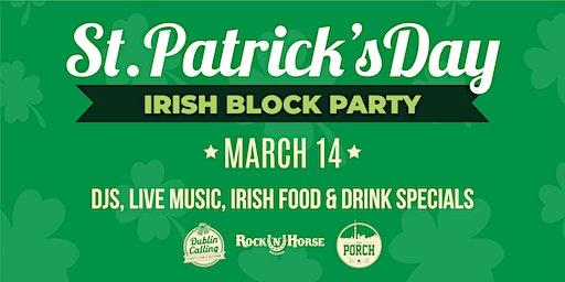 Irish Block Party