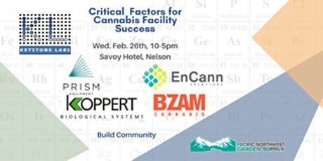 Critical Factors for Cannabis Facility Success tickets