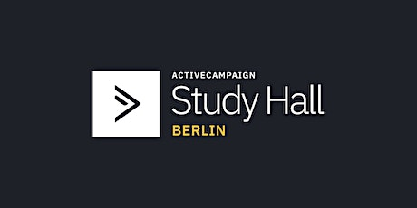 ActiveCampaign Study Hall | Berlin tickets