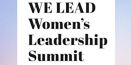 WE LEAD Women's Leadership Summit tickets