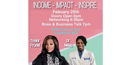 Income Impact Inspire tickets