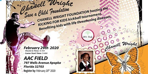 Chanell Wright Foundation Kickball Tournament