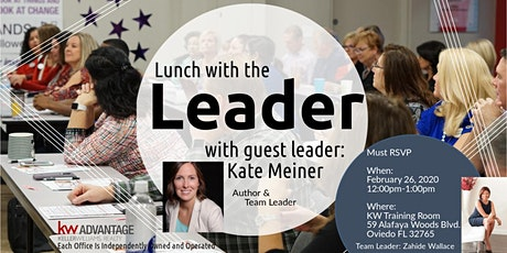 Lunch with the Leader: Kate Meiner tickets