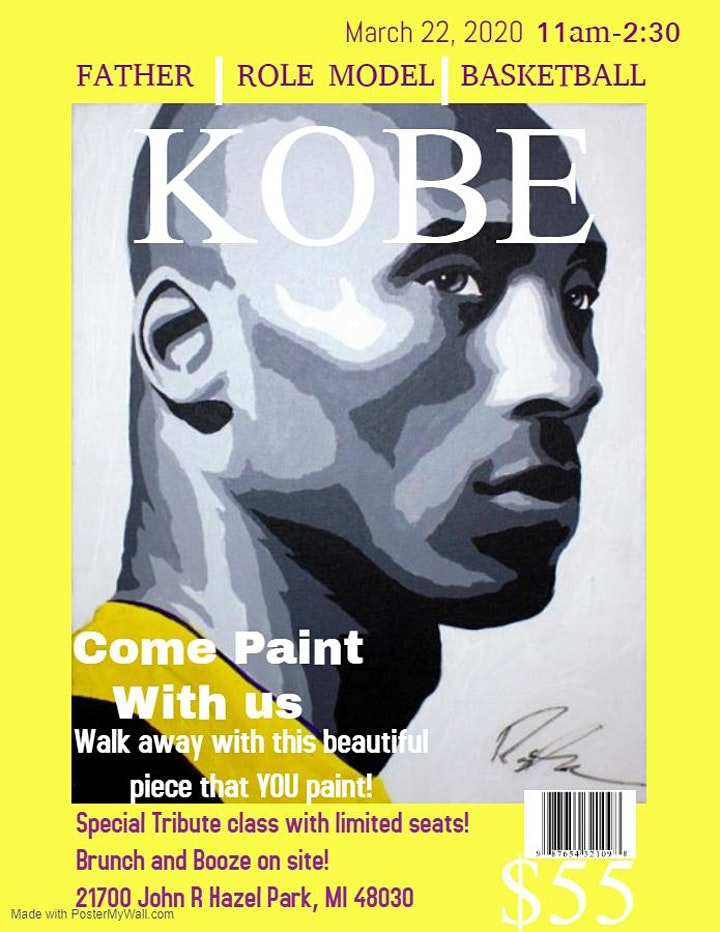 Kobe Tribute Paint and Brunch image