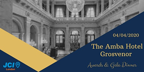 JCI London  Awards & Gala Dinner 2020 tickets