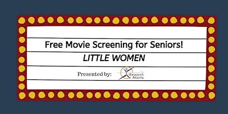 Free Movie for Seniors: Little Women tickets
