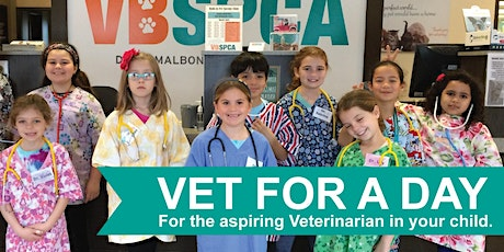 Vet for a Day Advanced Workshop (Ages 9-12) Summer 2020 tickets