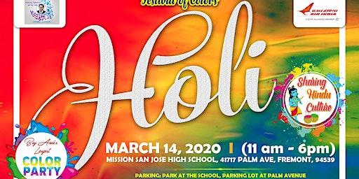 FOG Holi - Festival of Colors - Biggest Holi of Bay Area