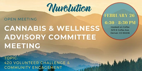 Nuvolution Cannabis & Wellness Advisory Committee Meeting tickets