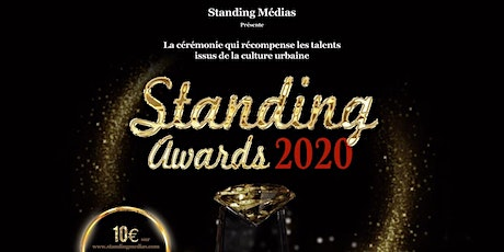 Standing  Awards 2020 billets