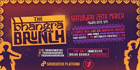POSTPONED: The Bhangra Brunch - LONDON - NEW DATE TBH. SEE EVENT INFO tickets