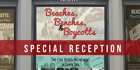 Beaches, Benches, & Boycotts Special Reception tickets
