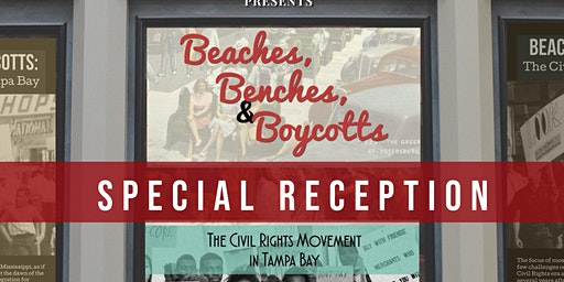 Beaches, Benches, & Boycotts Special Reception