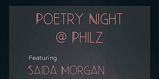 Poetry Night at Philz Coffee