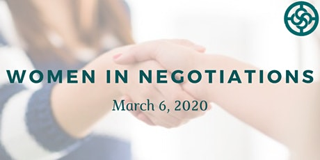 Women in Negotiations tickets