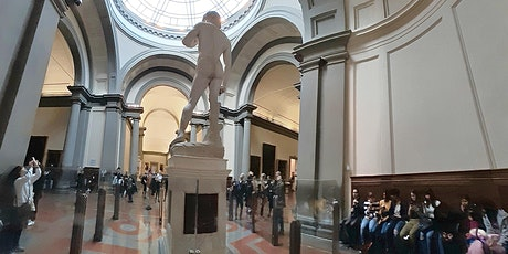 Michelangelo's David unprotected! - English Free Tour tickets