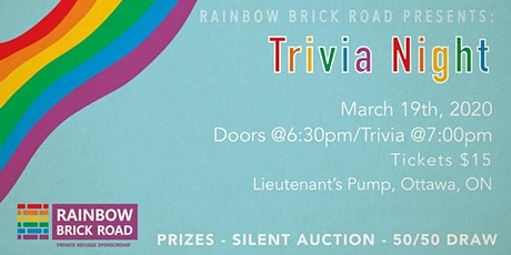 Rainbow Brick Road Presents: Trivia Night tickets