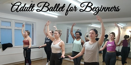FREE TRIAL - BALLET CLASS ADULT BEGINNERS tickets