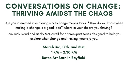 Conversations on Change: Thriving Admist  the Chaos