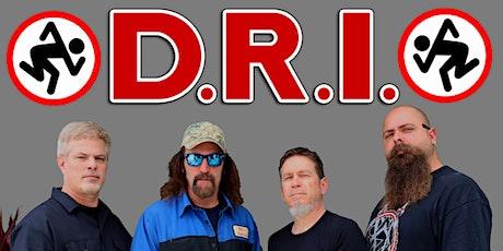 D.R.I. tickets