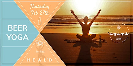 BEER  YOGA at SUNSET tickets