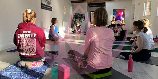 Teenager and Parent Workshop Bring a little calm through yoga with friends