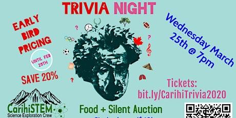 CarihiSTEM Trivia Night 2020 tickets