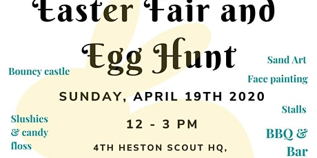4th Heston Scouts Easter Fair and Egg Hunt 2020 tickets