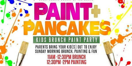 Paint and Pancakes- Kids Brunch  tickets