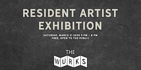 Resident Artist Exhibition tickets