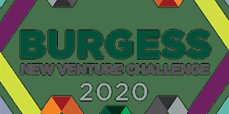 Burgess New Venture Challenge 2020 tickets