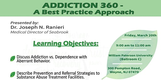 Addiction 360- A Best Practice Approach