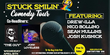 "Comedy Night with ""Stuck Smilin' Tour"" at THE NOG tickets"