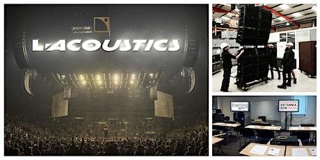 L'Acoustics K1 System day tickets