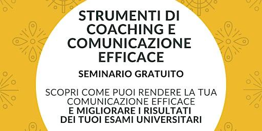 STRUMENTI DI COACHING & COMUNICAZIONE EFFICACE