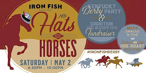 Iron Fish Hats & Horses 2020 - Kentucky Derby Party