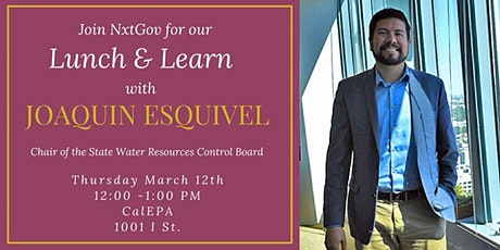 Lunch & Learn with Joaquin Esquivel tickets