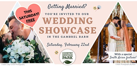 Country Heritage Park's FREE Wedding Showcase tickets