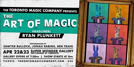 The Art of Magic with headliner Ryan Plunkett tickets