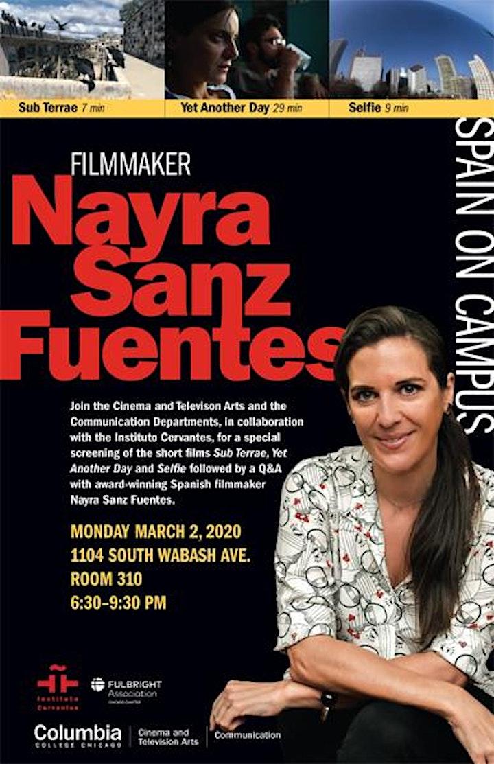 Nayra Sanz Fuentes Film Maker image
