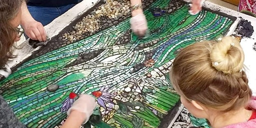 Collaborative Glass Mosaic Workshop
